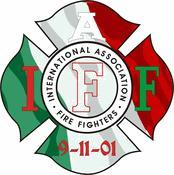 IAFF Italian Flag Decal