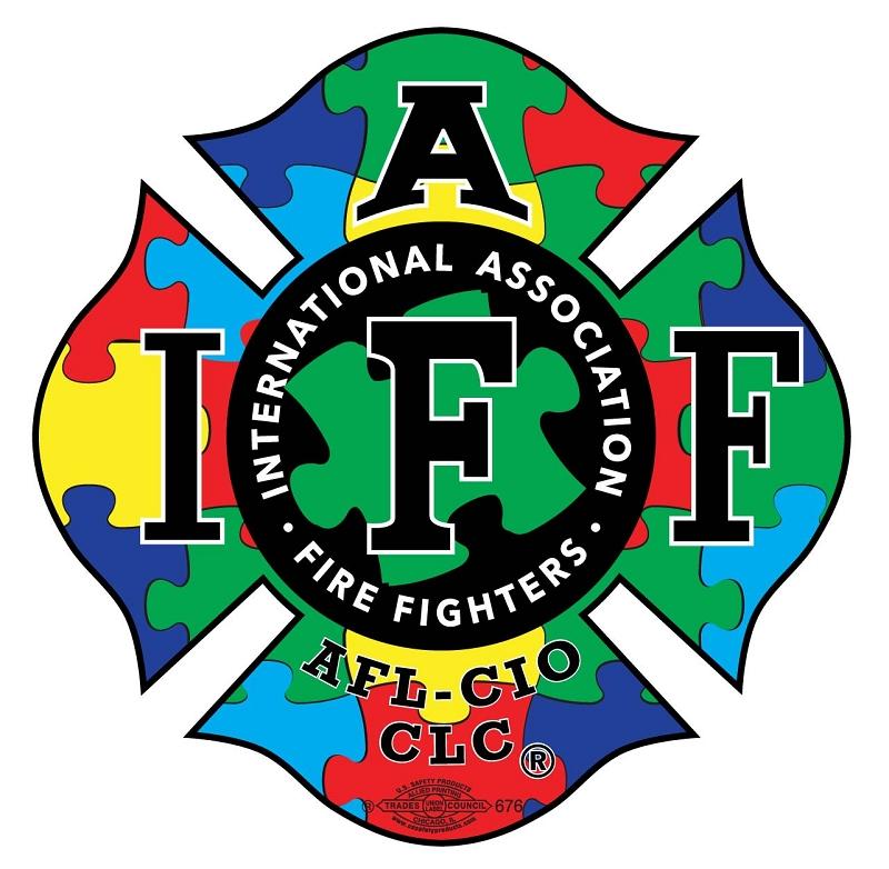 IAFF Autism Awareness Decal