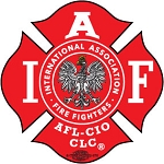IAFF Polish Eagle Decal