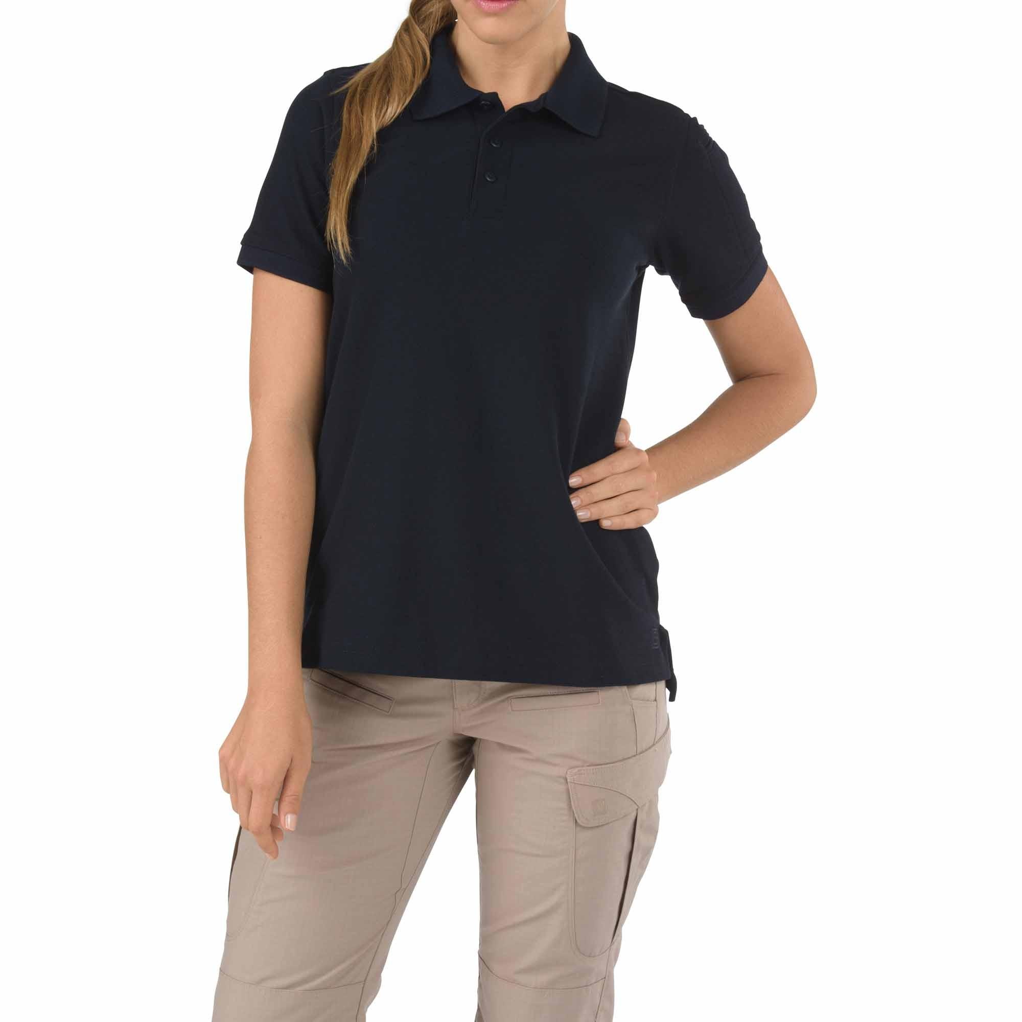 Tactical women 39 s short sleeve tactical jersey polo for Short sleeve shirt for women