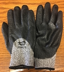 Global Glove CR808 Samurai Chemical Foam Nitrile 3/4 Dipped Glove Size Large