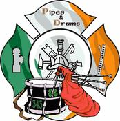 Firefighter Pipe's & Drums Decal