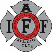 IAFF Grey-Red Decal