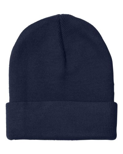 TCD Fire Science - USA Made 12 inch Knit Beanie with Cuff