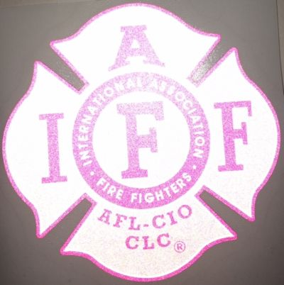 IAFF All Pink Decal