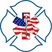 USA Firefighter-EMS Decal