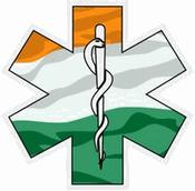 Irish Star of Life Decal