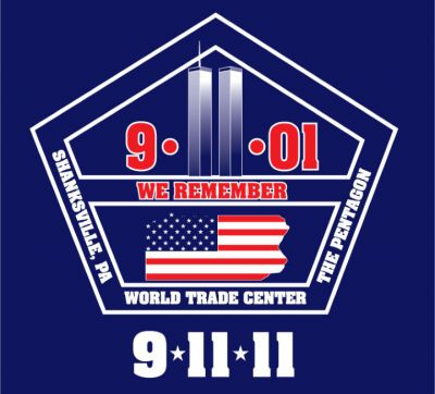 9-11-11 We Remember Decal