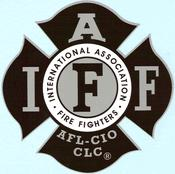 IAFF Silver-Black Decal