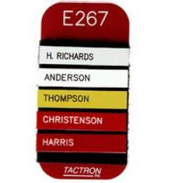 Tactron Engraved P*A*S*S* Vehicle Tag