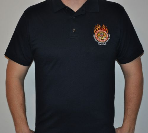 MABAS Anvil 4600 Golf Shirts Customized with Division Number