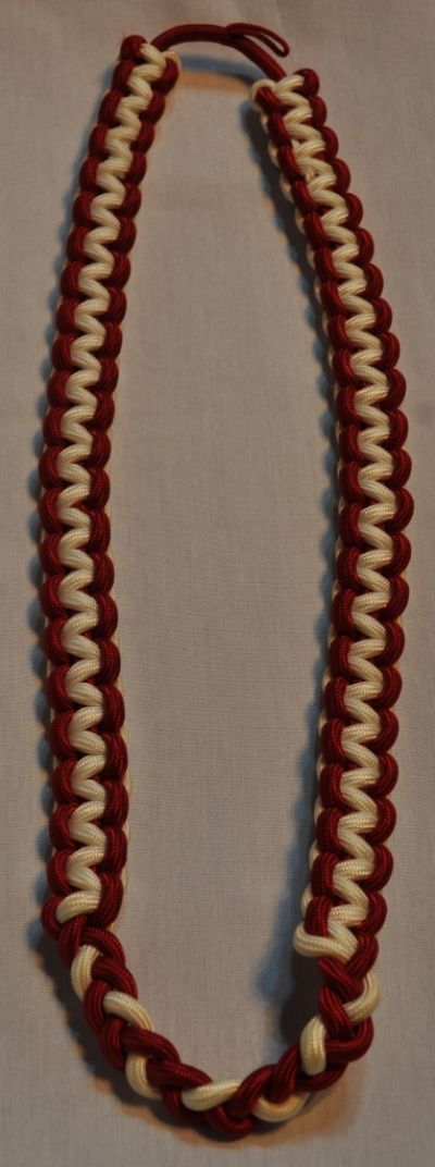 White-Red Shoulder Cord 17inch