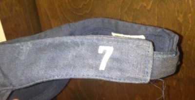 Embroider Your Players Name on Their Hat or Visor