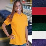 Elgin Local 439 - King Louie Union Made National Solid Lady's Cotton Pique Polo