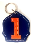 #1 Badge Keychain N-O
