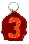 #3 Badge Keychain R-O