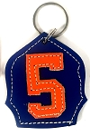 #5 Badge Keychain N-O