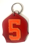 #5 Badge Keychain R-O