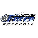Frankfort Force Baseball Window Decal