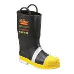 Thorogood Hellfire Rubber Insulated Lug Sole Fire-fighting Boot Size 15 Wide