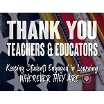 Thank You Teachers and Educators Signs