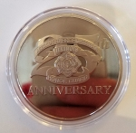 AFFI Honor Guard 25th Anniversary Challenge Coin