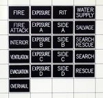 Fire Assignment Tag Set