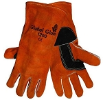 Welding Gloves, Premium Russet Color, Global Glove, PN#1200 Sold/Pair