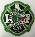 IAFF Leprechaun Patch