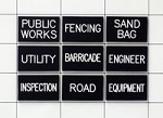 Public Works Assignment Tag Set