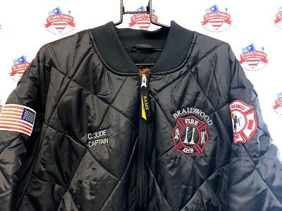 Braidwood Fire Department - Game Sportswear Jacket