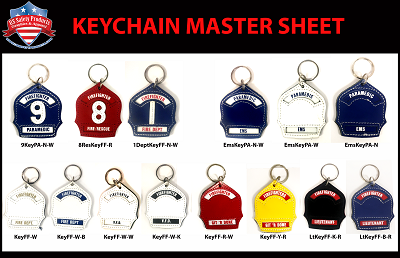 Reference- Variety Shield Key-Chains