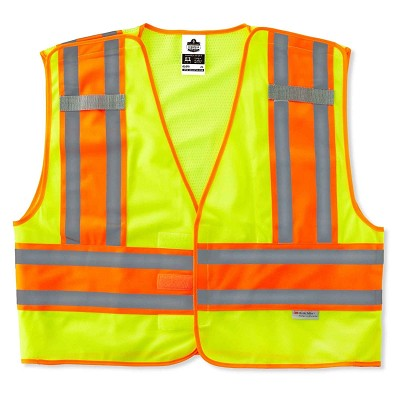 Ergodyne Glowear High Visibility Public Safety Vest 8245PSV-24