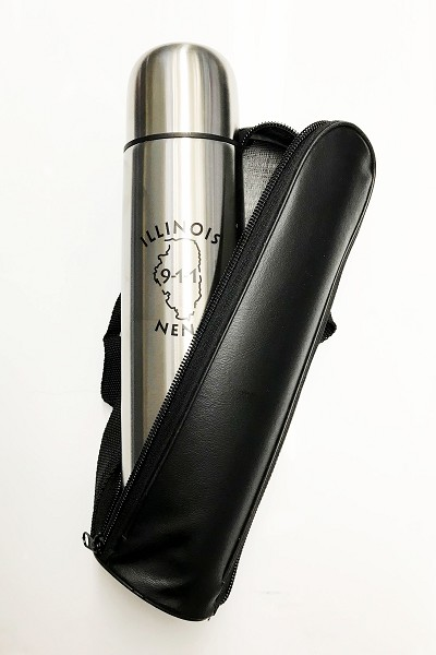 INENA - Thermos with Leather Case