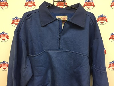 Game Sportswear Job Shirt in Light Blue Size Large