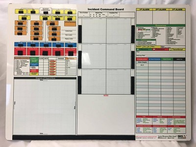 "Incident Command Board 23"" x 31"""