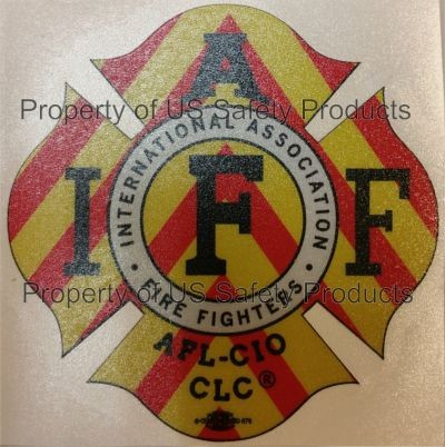 IAFF Chevron Decal