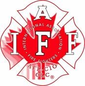 IAFF Canadian Leaf Decal