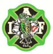 IAFF Leprechaun Decal