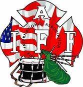 IAFF USA-Canadian Pipes & Drums Decal
