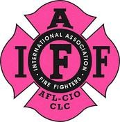 IAFF Hot Pink Decal