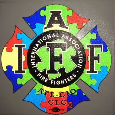 IAFF Autism Awareness Decal